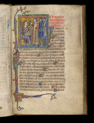 Aristotle advising a king on justice, in Pseudo-Aristotle's 'About the Secrets of Secrets'